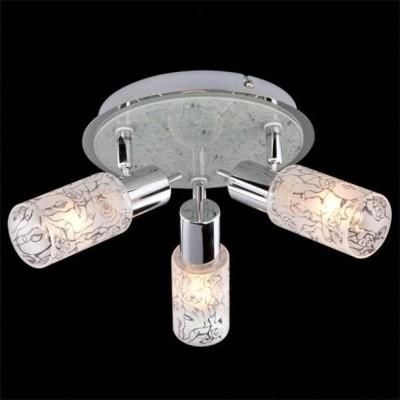 Светильник Евросвет 20102/3 хромТройные<br>Светильники-споты – это оригинальные изделия с современным дизайном. Они позволяют не ограничивать свою фантазию при выборе освещения для интерьера. Такие модели обеспечивают достаточно качественный свет. Благодаря компактным размерам Вы можете использовать несколько спотов для одного помещения.  Интернет-магазин «Светодом» предлагает необычный светильник-спот Евросвет 20102/3 по привлекательной цене. Эта модель станет отличным дополнением к люстре, выполненной в том же стиле. Перед оформлением заказа изучите характеристики изделия.  Купить светильник-спот Евросвет 20102/3 в нашем онлайн-магазине Вы можете либо с помощью формы на сайте, либо по указанным выше телефонам. Обратите внимание, что у нас склады не только в Москве и Екатеринбурге, но и других городах России.<br><br>S освещ. до, м2: 8<br>Тип лампы: накал-я - энергосбер-я<br>Тип цоколя: E14<br>Количество ламп: 3<br>MAX мощность ламп, Вт: 40<br>Диаметр, мм мм: 290<br>Высота, мм: 120<br>Цвет арматуры: серебристый