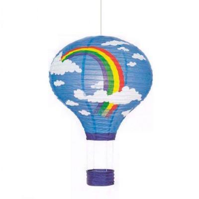 Подвесной светильник воздушный шар Brilliant 73370A03 RainbowДля детской<br>Зачастую мы ищем идеальное освещение для своего дома и уделяем этому достаточно много времени. Так, например, если нам нужен светильник с количеством ламп - 1 и цвет плафонов должен быть - цветной рисунок, а материал плафонов только бумага! То нам, как вариант, подойдет модель подвесного светильника Brilliant 73370A03.<br><br>S освещ. до, м2: 4<br>Тип лампы: накал-я - энергосбер-я<br>Тип цоколя: E27<br>Количество ламп: 1<br>MAX мощность ламп, Вт: 60<br>Диаметр, мм мм: 370<br>Высота, мм: 1700<br>Цвет арматуры: белый