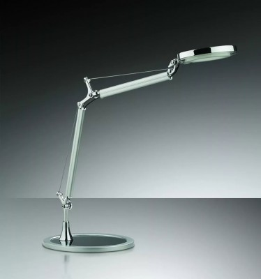 Купить со скидкой Светильник настольный Odeon light 2340/1T никель Wula-LED