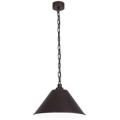 Luminex WORKS 9299 потолочный светильникОдиночные<br><br><br>S освещ. до, м2: 3<br>Крепление: Потолочное<br>Тип цоколя: E27<br>Цвет арматуры: Коричневый<br>Количество ламп: 1<br>Диаметр, мм мм: 500<br>Высота, мм: 1430<br>MAX мощность ламп, Вт: 60