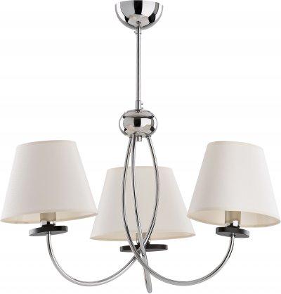 Alfa ROCK 18373 потолочный светильникОжидается<br><br><br>Крепление: Потолочное<br>Тип цоколя: E14<br>Цвет арматуры: Венге, Хром<br>Количество ламп: 3<br>Диаметр, мм мм: 400<br>Размеры: размер коробки 510x510x380см.<br>Высота, мм: 580<br>MAX мощность ламп, Вт: 40
