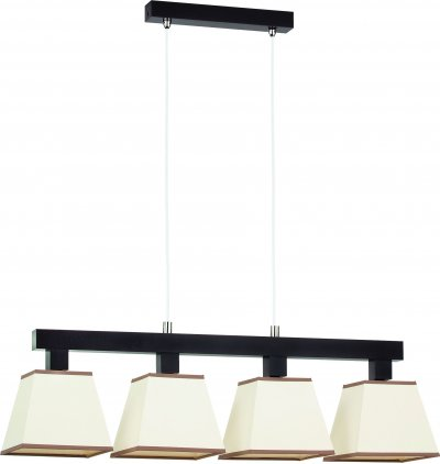 Alfa ADA VENGE 13484 потолочный светильникдлинные подвесные светильники<br><br><br>S освещ. до, м2: 9<br>Крепление: Потолочное<br>Тип цоколя: E27<br>Цвет арматуры: серебристый хром, Венге<br>Количество ламп: 3<br>Ширина, мм: 160<br>Размеры: размер коробки 75x20x42см.<br>Длина, мм: 760<br>Высота, мм: 900<br>MAX мощность ламп, Вт: 60