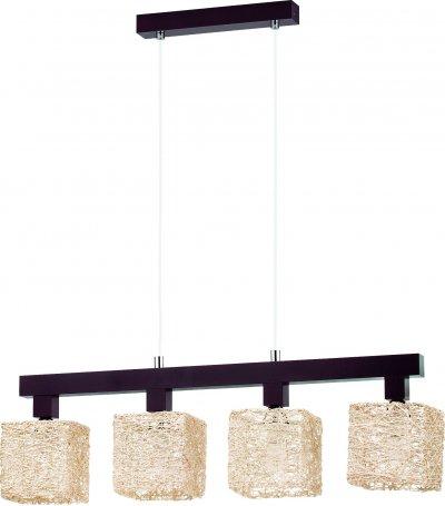 Alfa ABAKA BEZ 13654 потолочный светильникдлинные подвесные светильники<br><br><br>S освещ. до, м2: 8<br>Крепление: Потолочное<br>Тип цоколя: E14<br>Цвет арматуры: Венге<br>Количество ламп: 4<br>Размеры: размер коробки 22x22x70см.<br>Длина, мм: 720<br>Высота, мм: 900<br>MAX мощность ламп, Вт: 40