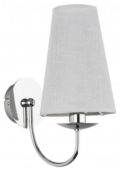 Alfa RETE 20440 настенный светильниксовременные бра модерн<br><br><br>Крепление: Настенное<br>Тип цоколя: E14<br>Цвет арматуры: серебристый хром<br>Количество ламп: 1<br>Размеры: размер коробки 23,5x23,5x21см.<br>Расстояние от стены, мм: 230<br>Высота, мм: 300<br>MAX мощность ламп, Вт: 40