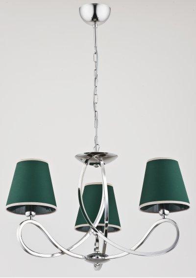 Alfa WILLMA 23353 потолочный светильниксовременные подвесные люстры модерн<br><br><br>Установка на натяжной потолок: Да<br>S освещ. до, м2: 6<br>Крепление: Потолочное<br>Тип цоколя: E14<br>Цвет арматуры: серебристый хром<br>Количество ламп: 3<br>MAX мощность ламп, Вт: 40