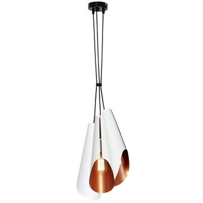 Luminex CALYX 9175 потолочный светильникПодвесные<br><br><br>Установка на натяжной потолок: Да<br>S освещ. до, м2: 9<br>Крепление: Потолочное<br>Тип цоколя: E27<br>Цвет арматуры: Черный<br>Количество ламп: 3<br>Диаметр, мм мм: 250<br>Размеры: размер коробки 45x22x22см.<br>Высота, мм: 1100<br>MAX мощность ламп, Вт: 60