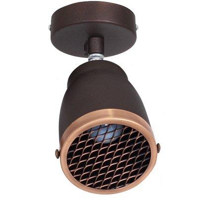 Luminex AILA 9231 спотОжидается<br><br><br>Крепление: настенное или потолочное<br>Тип цоколя: E27<br>Цвет арматуры: Коричневый<br>Количество ламп: 1<br>Ширина, мм: 110<br>Длина, мм: 240<br>Высота, мм: 210<br>MAX мощность ламп, Вт: 60