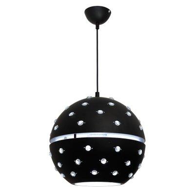 Luminex ORBIT 7559 потолочный светильниксовременные подвесные люстры модерн<br><br><br>Установка на натяжной потолок: Да<br>S освещ. до, м2: 3<br>Крепление: Потолочное<br>Тип цоколя: E27<br>Цвет арматуры: Черный<br>Количество ламп: 1<br>Диаметр, мм мм: 280<br>Размеры: размер коробки 29x33x33см.<br>Высота, мм: 950<br>MAX мощность ламп, Вт: 60