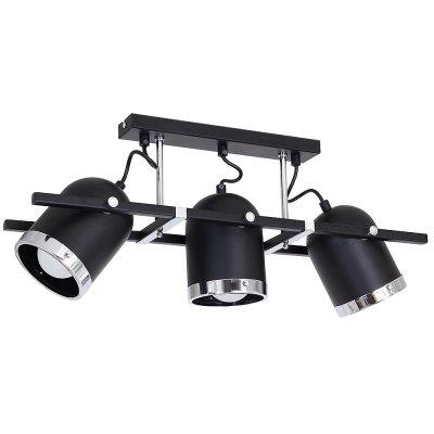 Luminex NEO 9406 спотПотолочные<br><br><br>Установка на натяжной потолок: Да<br>S освещ. до, м2: 9<br>Крепление: настенное или потолочное<br>Тип цоколя: E27<br>Цвет арматуры: Черный, Хром<br>Количество ламп: 3<br>Ширина, мм: 150<br>Длина, мм: 600<br>Высота, мм: 250<br>MAX мощность ламп, Вт: 60