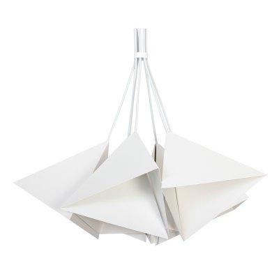 Luminex SET 7409 потолочный светильниксовременные подвесные люстры модерн<br><br><br>Установка на натяжной потолок: Да<br>S освещ. до, м2: 15<br>Крепление: Потолочное<br>Тип цоколя: E27<br>Цвет арматуры: Белый<br>Количество ламп: 5<br>Диаметр, мм мм: 500<br>Размеры: размер коробки 24x26x26см.<br>Высота, мм: 800<br>MAX мощность ламп, Вт: 60