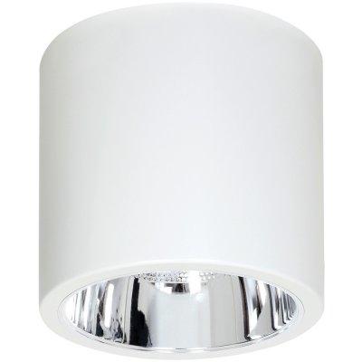 Luminex DOWNLIGHT ROUND 7238 потолочный светильникнакладные точечные светильники<br><br><br>S освещ. до, м2: 3<br>Крепление: Потолочное<br>Тип цоколя: E27<br>Цвет арматуры: Белый<br>Количество ламп: 1<br>Диаметр, мм мм: 133<br>Размеры: размер коробки 14x14x16см.<br>Высота, мм: 155<br>MAX мощность ламп, Вт: 60
