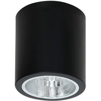 Luminex DOWNLIGHT ROUND 7239 потолочный светильникнакладные точечные светильники<br><br><br>S освещ. до, м2: 3<br>Крепление: Потолочное<br>Тип цоколя: E27<br>Цвет арматуры: Чёрный<br>Количество ламп: 1<br>Диаметр, мм мм: 133<br>Размеры: размер коробки 14x14x16см.<br>Высота, мм: 155<br>MAX мощность ламп, Вт: 60