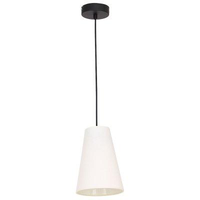 Luminex TUBLES 8781 потолочный светильникодиночные подвесные светильники<br><br><br>S освещ. до, м2: 3<br>Крепление: Потолочное<br>Тип цоколя: E27<br>Цвет арматуры: Черный<br>Количество ламп: 1<br>Диаметр, мм мм: 150<br>Размеры: размер коробки 29x33x33см.<br>Высота, мм: 1050<br>MAX мощность ламп, Вт: 60