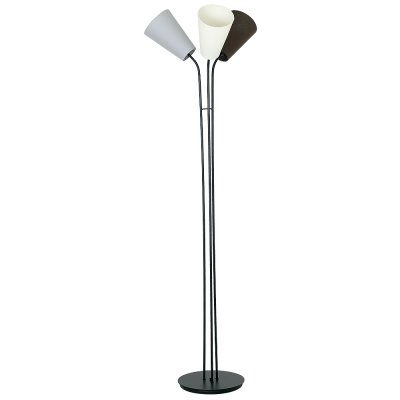 Luminex TUBLES 8788 напольный светильниксовременные торшеры<br><br><br>Крепление: Напольное<br>Тип цоколя: E27<br>Цвет арматуры: черный<br>Количество ламп: 3<br>Диаметр, мм мм: 500<br>Размеры: размер коробки 170x30x30см.<br>Высота, мм: 1700<br>MAX мощность ламп, Вт: 60