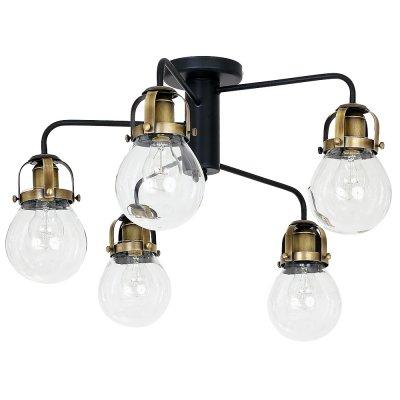 Luminex PARIS 7819 потолочный светильникПотолочные<br><br><br>Установка на натяжной потолок: Да<br>S освещ. до, м2: 15<br>Крепление: Потолочное<br>Тип цоколя: E27<br>Цвет арматуры: Черный, Латунь<br>Количество ламп: 5<br>Диаметр, мм мм: 660<br>Размеры: размер коробки 40x60x60см.<br>Высота, мм: 470<br>MAX мощность ламп, Вт: 60