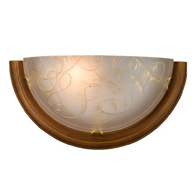 Светильник Сонекс 003 SN15 PROVENCE BROWNНакладные<br><br><br>Тип товара: Светильник настенный бра<br>Тип лампы: накаливания / энергосбережения / LED-светодиодная<br>Тип цоколя: E27<br>Количество ламп: 1<br>MAX мощность ламп, Вт: 100<br>Цвет арматуры: золотой