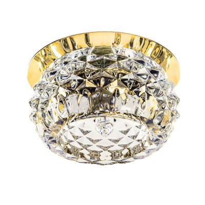 Светильник Lightstar 004252R MOBILEDКруглые<br><br><br>Тип лампы: галогенная/LED<br>MAX мощность ламп, Вт: 40<br>Диаметр, мм мм: 110<br>Диаметр врезного отверстия, мм: 55<br>Высота, мм: 50<br>Цвет арматуры: золотой
