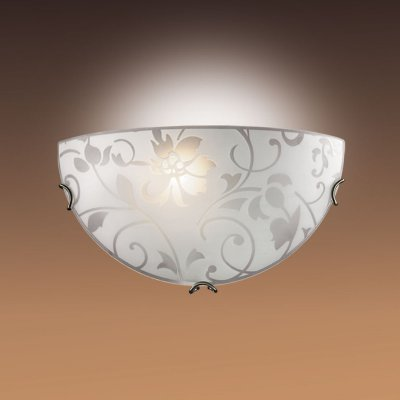 Светильник бра Сонекс 008 белый/бронзовый VUALEНакладные<br><br><br>S освещ. до, м2: 6<br>Тип лампы: накаливания / энергосбережения / LED-светодиодная<br>Тип цоколя: E27<br>Количество ламп: 1<br>Ширина, мм: 300<br>MAX мощность ламп, Вт: 100<br>Цвет арматуры: бронзовый