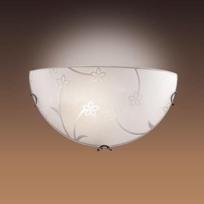 Светильник Сонекс 010 Luaro хром/белыйНакладные<br><br><br>S освещ. до, м2: 4<br>Тип лампы: накаливания / энергосбережения / LED-светодиодная<br>Тип цоколя: E27<br>Количество ламп: 1<br>Ширина, мм: 300<br>MAX мощность ламп, Вт: 60<br>Высота, мм: 150<br>Цвет арматуры: серебристый