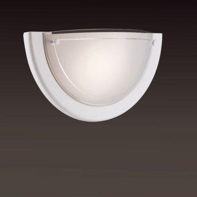 Светильник Сонекс 011 белый RigaНакладные<br>*Сонекс-К 011<br><br>S освещ. до, м2: 6<br>Тип лампы: накаливания / энергосбережения / LED-светодиодная<br>Тип цоколя: E27<br>Цвет арматуры: белый<br>Количество ламп: 1<br>Ширина, мм: 310<br>Высота, мм: 155<br>MAX мощность ламп, Вт: 100