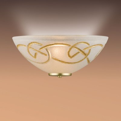 Светильник бра Сонекс 012/T зол/стекло с эффектом кристалл BRENA GOLDНакладные<br><br><br>S освещ. до, м2: 6<br>Тип лампы: накаливания / энергосбережения / LED-светодиодная<br>Тип цоколя: E27<br>Количество ламп: 1<br>Ширина, мм: 300<br>MAX мощность ламп, Вт: 100<br>Цвет арматуры: золотой