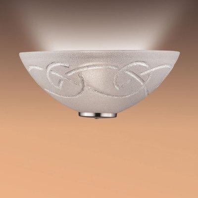 Светильник бра Сонекс 013/T хром/стекло с эффектом кристалл BRENA SILVERНакладные<br><br><br>S освещ. до, м2: 6<br>Тип лампы: накаливания / энергосбережения / LED-светодиодная<br>Тип цоколя: E27<br>Количество ламп: 1<br>Ширина, мм: 300<br>MAX мощность ламп, Вт: 100<br>Цвет арматуры: серебристый