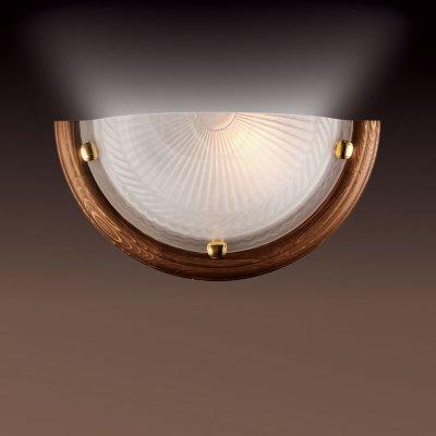 Светильник Сонекс 016 золото GlassНакладные<br>*Сонекс-К 016<br><br>S освещ. до, м2: 6<br>Тип лампы: накаливания / энергосбережения / LED-светодиодная<br>Тип цоколя: E27<br>Количество ламп: 1<br>Ширина, мм: 360<br>MAX мощность ламп, Вт: 100<br>Высота, мм: 180<br>Цвет арматуры: золотой