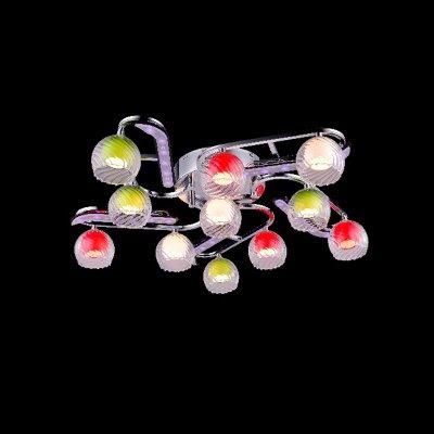 Люстра Eurosvet 0181/11 хром/синий+красный+фиолетовыйПотолочные<br>Компания «Светодом» предлагает широкий ассортимент люстр от известных производителей. Представленные в нашем каталоге товары выполнены из современных материалов и обладают отличным качеством. Благодаря широкому ассортименту Вы сможете найти у нас люстру под любой интерьер. Мы предлагаем как классические варианты, так и современные модели, отличающиеся лаконичностью и простотой форм.  Стильная люстра Евросвет 0181/11 станет украшением любого дома. Эта модель от известного производителя не оставит равнодушным ценителей красивых и оригинальных предметов интерьера. Люстра Евросвет 0181/11 обеспечит равномерное распределение света по всей комнате. При выборе обратите внимание на характеристики, позволяющие приобрести наиболее подходящую модель. Купить понравившуюся люстру по доступной цене Вы можете в интернет-магазине «Светодом».<br><br>Установка на натяжной потолок: Ограничено<br>S освещ. до, м2: 14<br>Крепление: Планка<br>Тип лампы: галогенная / LED-светодиодная<br>Тип цоколя: G4<br>Количество ламп: 11<br>MAX мощность ламп, Вт: 20<br>Диаметр, мм мм: 680<br>Высота, мм: 160<br>Цвет арматуры: серебристый