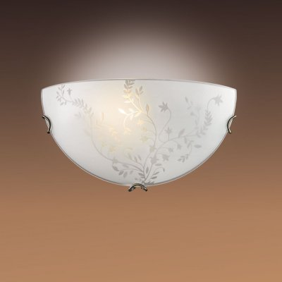 Светильник Сонекс 018 Kusta бронза/белыйНакладные<br><br><br>S освещ. до, м2: 4<br>Тип лампы: накаливания / энергосбережения / LED-светодиодная<br>Тип цоколя: E27<br>Количество ламп: 1<br>MAX мощность ламп, Вт: 60<br>Диаметр, мм мм: 300<br>Высота, мм: 150<br>Цвет арматуры: бронзовый