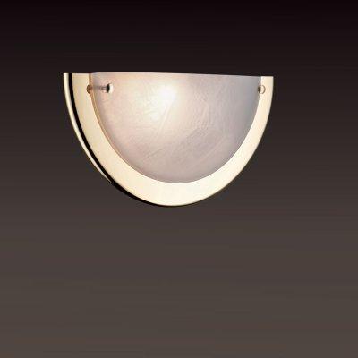 Светильник Сонекс 021 золото AlabastroНакладные<br>*Сонекс-К 021<br><br>S освещ. до, м2: 6<br>Тип лампы: накаливания / энергосбережения / LED-светодиодная<br>Тип цоколя: E27<br>Количество ламп: 1<br>Ширина, мм: 310<br>MAX мощность ламп, Вт: 100<br>Высота, мм: 155<br>Цвет арматуры: золотой
