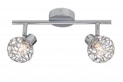 Светильник Brilliant G02213/15 VirgoДвойные<br>Светильники-споты – это оригинальные изделия с современным дизайном. Они позволяют не ограничивать свою фантазию при выборе освещения для интерьера. Такие модели обеспечивают достаточно качественный свет. Благодаря компактным размерам Вы можете использовать несколько спотов для одного помещения.  Интернет-магазин «Светодом» предлагает необычный светильник-спот Brilliant G02213/15 по привлекательной цене. Эта модель станет отличным дополнением к люстре, выполненной в том же стиле. Перед оформлением заказа изучите характеристики изделия.  Купить светильник-спот Brilliant G02213/15 в нашем онлайн-магазине Вы можете либо с помощью формы на сайте, либо по указанным выше телефонам. Обратите внимание, что у нас склады не только в Москве и Екатеринбурге, но и других городах России.<br>