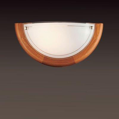 Светильник Сонекс 026 дуб RigaНакладные<br>*Сонекс-К 026<br><br>S освещ. до, м2: 6<br>Тип лампы: накаливания / энергосбережения / LED-светодиодная<br>Тип цоколя: E27<br>Цвет арматуры: деревянный<br>Количество ламп: 1<br>Ширина, мм: 310<br>Высота, мм: 155<br>MAX мощность ламп, Вт: 100