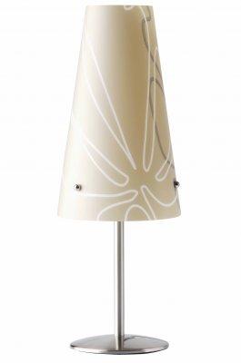 Лампа настольная Brilliant 02747/20 IsiБелые<br>Зачастую мы ищем идеальное освещение для своего дома и уделяем этому достаточно много времени. Так, например, если нам нужен светильник с количеством ламп - 1 и цвет плафонов должен быть - коричневый с рисунком, а материал плафонов только полимер! То нам, как вариант, подойдет модель - лампа настольная Brilliant 02747/20.<br><br>S освещ. до, м2: 2<br>Тип лампы: накал-я - энергосбер-я<br>Тип цоколя: E14<br>Количество ламп: 1<br>MAX мощность ламп, Вт: 40<br>Диаметр, мм мм: 140<br>Высота, мм: 380<br>Цвет арматуры: серебристый