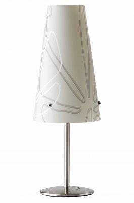 Лампа настольная Brilliant 02747/22 IsiБелые<br>Зачастую мы ищем идеальное освещение для своего дома и уделяем этому достаточно много времени. Так, например, если нам нужен светильник с количеством ламп - 1 и цвет плафонов должен быть - серый с рисунком, а материал плафонов только полимер! То нам, как вариант, подойдет модель - лампа настольная Brilliant 02747/22.<br><br>S освещ. до, м2: 2<br>Тип лампы: накал-я - энергосбер-я<br>Тип цоколя: E14<br>Количество ламп: 1<br>MAX мощность ламп, Вт: 40<br>Диаметр, мм мм: 140<br>Высота, мм: 380<br>Цвет арматуры: серебристый