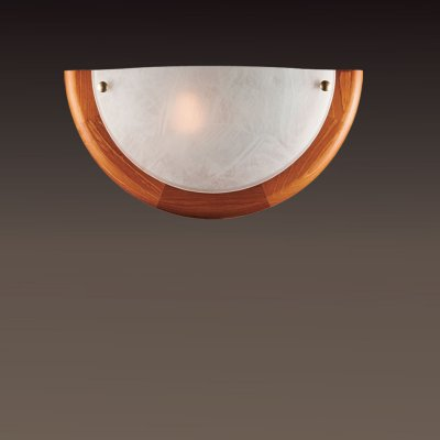 Светильник Сонекс 027 дуб AlabastroНакладные<br>*Сонекс-К 027<br><br>S освещ. до, м2: 6<br>Тип лампы: накаливания / энергосбережения / LED-светодиодная<br>Тип цоколя: E27<br>Цвет арматуры: деревянный<br>Количество ламп: 1<br>Ширина, мм: 310<br>Высота, мм: 155<br>MAX мощность ламп, Вт: 100
