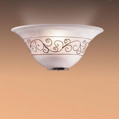 Светильник Сонекс 031/Т золото Barocco OroНакладные<br><br><br>S освещ. до, м2: 6<br>Тип лампы: накаливания / энергосбережения / LED-светодиодная<br>Тип цоколя: E27<br>Количество ламп: 1<br>Ширина, мм: 300<br>MAX мощность ламп, Вт: 100<br>Высота, мм: 150<br>Цвет арматуры: бронзовый
