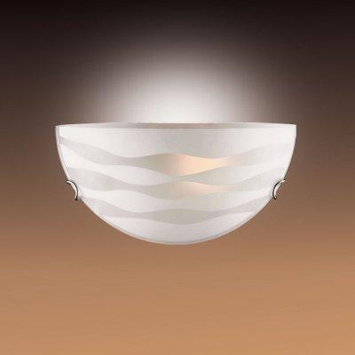Светильник Сонекс 033 хром OdinaНакладные<br>*Сонекс-К 033<br><br>S освещ. до, м2: 6<br>Тип лампы: накаливания / энергосбережения / LED-светодиодная<br>Тип цоколя: E27<br>Цвет арматуры: серебристый<br>Количество ламп: 1<br>Ширина, мм: 300<br>Высота, мм: 150<br>MAX мощность ламп, Вт: 100