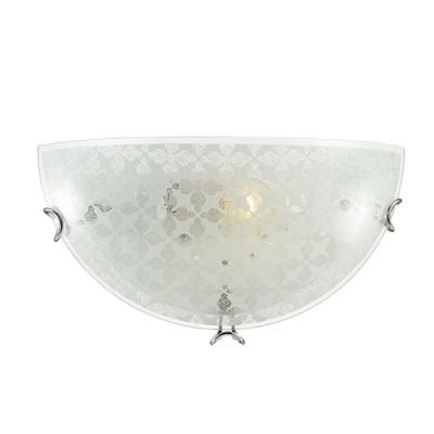 Сонекс SALI 35 Настенный светильник браНакладные<br><br><br>Тип лампы: Накаливания / энергосбережения / светодиодная<br>Тип цоколя: E27<br>Количество ламп: 1<br>Ширина, мм: 300<br>MAX мощность ламп, Вт: 60<br>Расстояние от стены, мм: 100<br>Высота, мм: 150