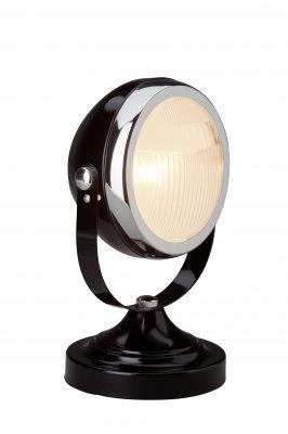 Лампа настольная Brilliant 04347/06 RIDERХай тек<br>Зачастую мы ищем идеальное освещение для своего дома и уделяем этому достаточно много времени. Так, например, если нам нужен светильник с количеством ламп - 1 и цвет плафонов должен быть - черный, хром, а материал плафонов только стекло! То нам, как вариант, подойдет модель - лампа настольная Brilliant 04347/06.<br><br>S освещ. до, м2: 1<br>Тип лампы: накаливания / энергосбережения / LED-светодиодная<br>Тип цоколя: E14<br>Цвет арматуры: черный<br>Количество ламп: 1<br>Диаметр, мм мм: 210<br>Высота, мм: 290<br>MAX мощность ламп, Вт: 28