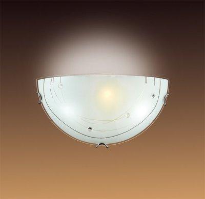 Светильник Сонекс 046Накладные<br><br><br>S освещ. до, м2: 6<br>Тип лампы: накаливания / энергосбережения / LED-светодиодная<br>Тип цоколя: E27<br>Количество ламп: 1<br>Ширина, мм: 300<br>MAX мощность ламп, Вт: 100<br>Высота, мм: 150<br>Цвет арматуры: серебристый