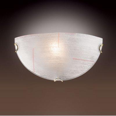 Светильник Сонекс 054 золото Lint OrangeНакладные<br><br><br>S освещ. до, м2: 6<br>Тип товара: Светильник настенный бра<br>Тип лампы: накаливания / энергосбережения / LED-светодиодная<br>Тип цоколя: E27<br>Количество ламп: 1<br>Ширина, мм: 300<br>MAX мощность ламп, Вт: 100<br>Высота, мм: 150<br>Цвет арматуры: золотой
