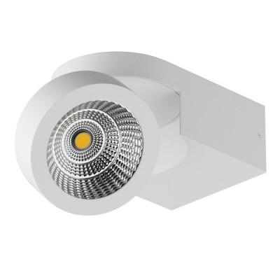 Светильник точечный накладной диодный Lightstar 55164 Snodoдекоративные светильники<br>Светильник Lightstar 055164 SNODO LED сделает Ваш интерьер современным, стильным и запоминающимся! Наиболее функционально и эстетически привлекательно модель будет смотреться в гостиной, зале, холле или другой комнате. А в комплекте с люстрой и торшером из этой же коллекции, сделает помещение по-дизайнерски профессиональным и законченным.