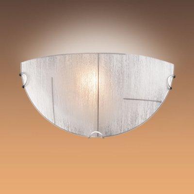 Светильник Сонекс 055 хром Lint BlackНакладные<br><br><br>S освещ. до, м2: 6<br>Тип лампы: накаливания / энергосбережения / LED-светодиодная<br>Тип цоколя: E27<br>Цвет арматуры: серебристый<br>Количество ламп: 1<br>Ширина, мм: 300<br>Высота, мм: 150<br>MAX мощность ламп, Вт: 100