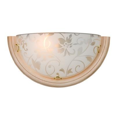 Светильник Сонекс 056 SN15 PROVENCE CREMAнакладные настенные светильники<br><br><br>Тип лампы: накаливания / энергосбережения / LED-светодиодная<br>Тип цоколя: E27<br>Цвет арматуры: бежевый с золотистой патиной<br>Количество ламп: 1<br>MAX мощность ламп, Вт: 100