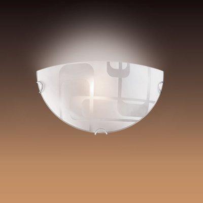 Светильник Сонекс 057 хром HaloНакладные<br><br><br>S освещ. до, м2: 6<br>Тип лампы: накаливания / энергосбережения / LED-светодиодная<br>Тип цоколя: E27<br>Цвет арматуры: серебристый<br>Количество ламп: 1<br>Ширина, мм: 300<br>Высота, мм: 150<br>MAX мощность ламп, Вт: 100