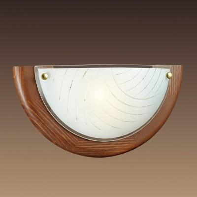 Светильник Сонекс 058 VIRAНакладные<br><br><br>Тип лампы: Накаливания / энергосбережения / светодиодная<br>Тип цоколя: E27<br>Количество ламп: 1<br>Ширина, мм: 310<br>MAX мощность ламп, Вт: 100<br>Цвет арматуры: коричневый