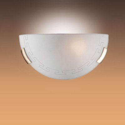 Светильник Сонекс 061 бронза GrecaНакладные<br>*Сонекс-К 061<br><br>S освещ. до, м2: 6<br>Тип лампы: накаливания / энергосбережения / LED-светодиодная<br>Тип цоколя: E27<br>Цвет арматуры: бронзовый<br>Количество ламп: 1<br>Ширина, мм: 300<br>Высота, мм: 150<br>MAX мощность ламп, Вт: 100