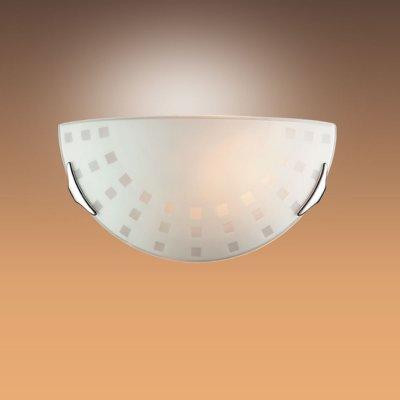 Светильник Сонекс 062 хром Quadroнакладные настенные светильники<br><br><br>S освещ. до, м2: 6<br>Тип лампы: накаливания / энергосбережения / LED-светодиодная<br>Тип цоколя: E27<br>Цвет арматуры: серебристый<br>Количество ламп: 1<br>Ширина, мм: 300<br>Высота, мм: 150<br>MAX мощность ламп, Вт: 100