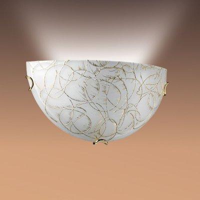 Светильник Сонекс 065 золото ViolaНакладные<br><br><br>S освещ. до, м2: 6<br>Тип лампы: накаливани / нергосбережени / LED-светодиодна<br>Тип цокол: E27<br>Количество ламп: 1<br>Ширина, мм: 300<br>MAX мощность ламп, Вт: 100<br>Высота, мм: 150<br>Цвет арматуры: золотой