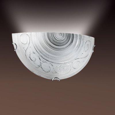 Светильник Сонекс 066 хром TulionНакладные<br><br><br>S освещ. до, м2: 6<br>Тип товара: Светильник настенный бра<br>Скидка, %: 27<br>Тип лампы: накаливания / энергосбережения / LED-светодиодная<br>Тип цоколя: E27<br>Количество ламп: 1<br>Ширина, мм: 300<br>MAX мощность ламп, Вт: 100<br>Высота, мм: 150<br>Цвет арматуры: серебристый